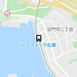 ノーフォーク広場駅の周辺地図