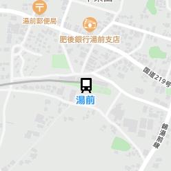 湯前駅の周辺地図