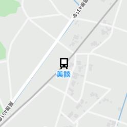美談駅の周辺地図