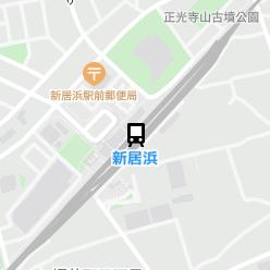 新居浜駅の周辺地図