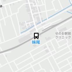 妹尾駅の周辺地図