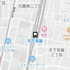 天下茶屋駅の周辺地図