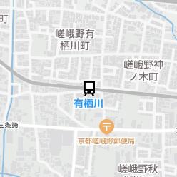 有栖川駅の周辺地図