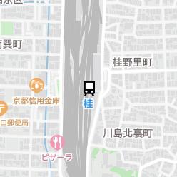 桂駅の周辺地図