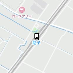 尼子駅の周辺地図