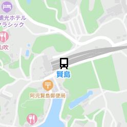 賢島駅の周辺地図