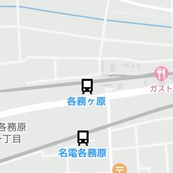 各務ヶ原駅の周辺地図