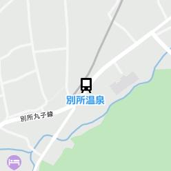 別所温泉駅の周辺地図