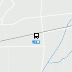舞田駅の周辺地図