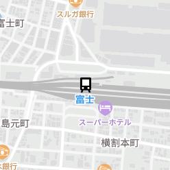 富士駅の周辺地図