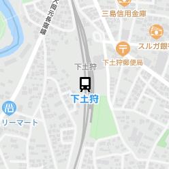 下土狩駅の周辺地図