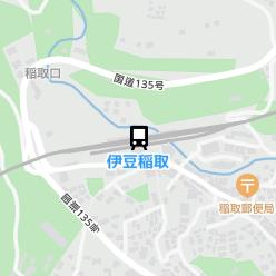 伊豆稲取駅の周辺地図