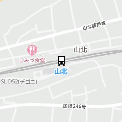 山北駅の周辺地図