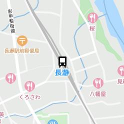長瀞駅の周辺地図