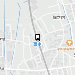富水駅の周辺地図