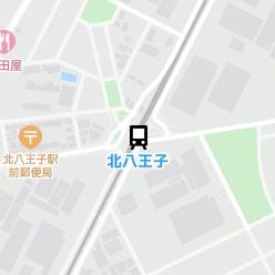 北八王子駅の周辺地図