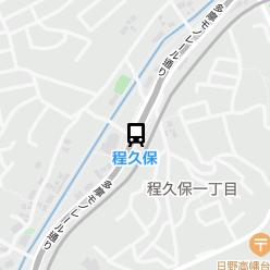 程久保駅の周辺地図
