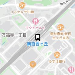 新百合ヶ丘駅の周辺地図