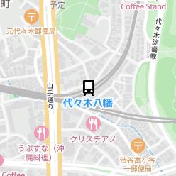 代々木八幡駅の周辺地図