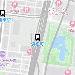 浜松町駅の周辺地図