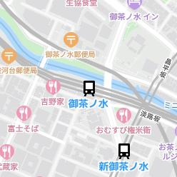 御茶ノ水駅の周辺地図