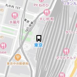 東京駅の周辺地図