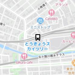 とうきょうスカイツリー駅の周辺地図