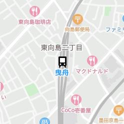 曳舟駅の周辺地図