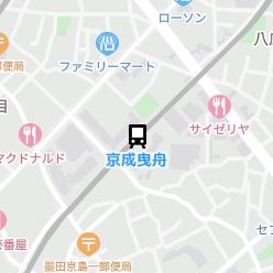 京成曳舟駅の周辺地図