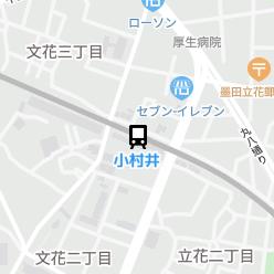小村井駅の周辺地図