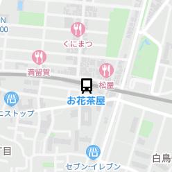 お花茶屋駅の周辺地図