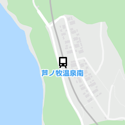 芦ノ牧温泉南駅の周辺地図
