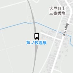 芦ノ牧温泉駅の周辺地図