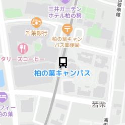 柏の葉キャンパス駅の周辺地図