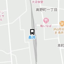長井駅の周辺地図