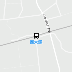 西大塚駅の周辺地図