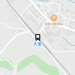 大金駅の周辺地図