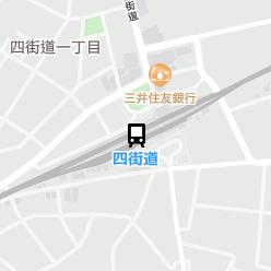 四街道駅の周辺地図