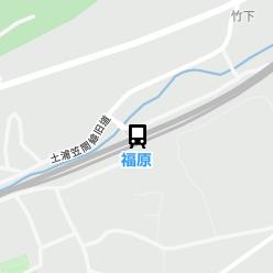 福原駅の周辺地図