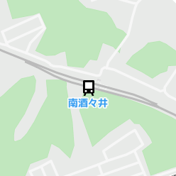 南酒々井駅の周辺地図