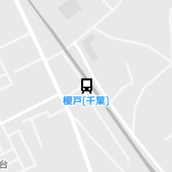 榎戸(千葉)駅の周辺地図