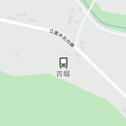 吉堀駅の周辺地図