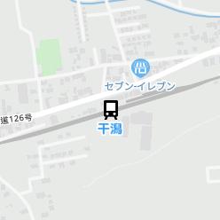 干潟駅の周辺地図