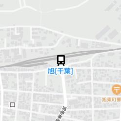 旭(千葉)駅の周辺地図