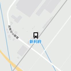 新利府駅の周辺地図