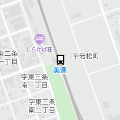 美深駅の周辺地図